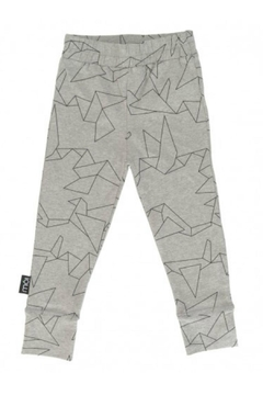 Shoptiques Product: Leggings - Grey Oragami