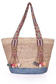 America & Beyond Mojave Dessert Jute Tote - Front cropped