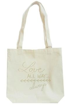 Moko & Co Handmade Love Always Tote - Alternate List Image