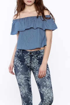 Shoptiques Product: Denim Crop Top