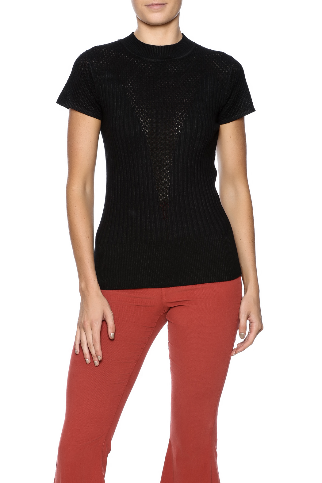 More Details Theory Wendel Sleeveless Knit Top Details Theory