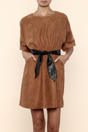 Molly Bracken Camel Dress - Product Mini Image