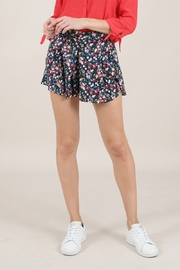 Molly Bracken Flower Print Shorts - Product Mini Image