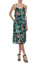 Molly Bracken Hawaiian Print Dress - Product Mini Image