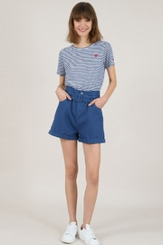 Molly Bracken High Waisted Belted Shorts - Product Mini Image