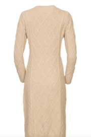 Line & Dot Molly Cable Knit Dress - Side cropped