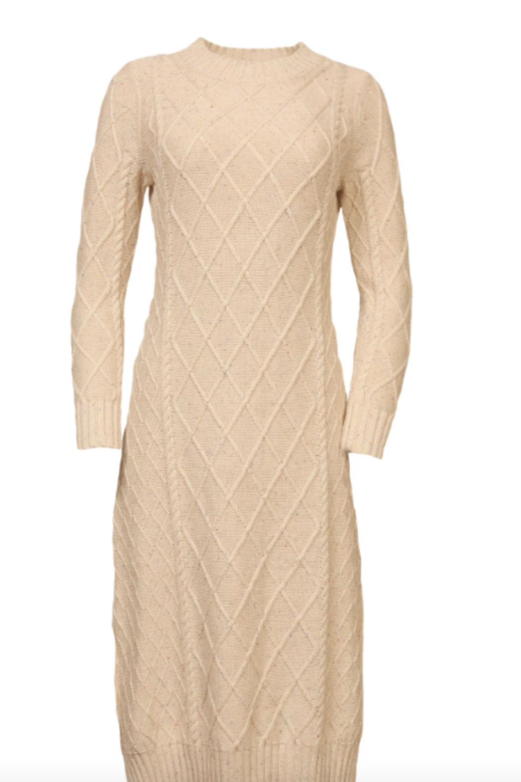 Line & Dot Molly Cable Knit Dress - Main Image
