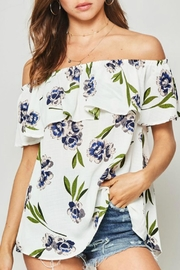 Promesa USA Molly Floral Blouse - Front cropped