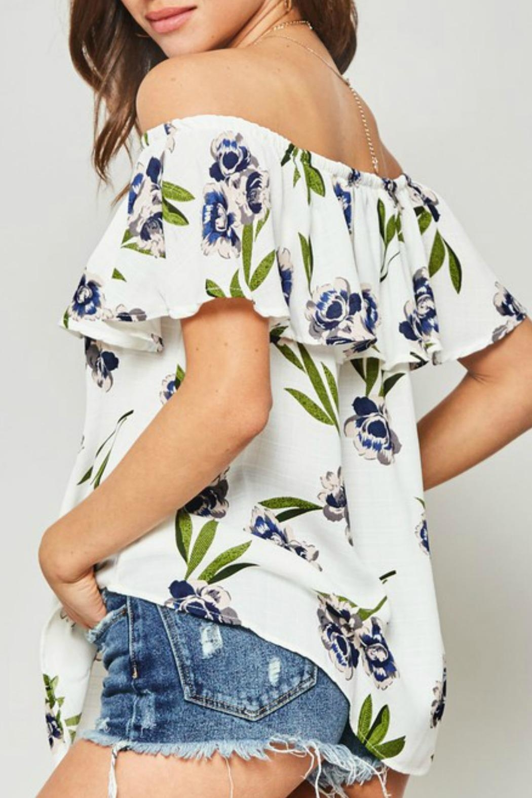 Promesa USA Molly Floral Blouse - Side Cropped Image