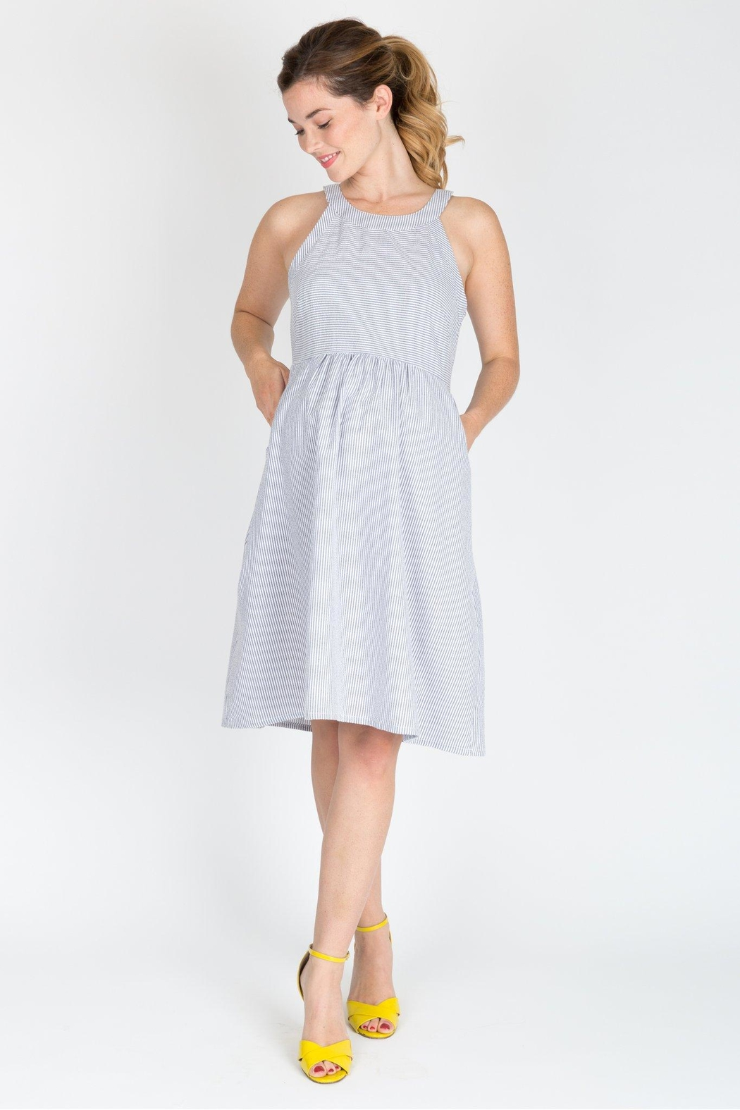NOM Maternity Molly Maternity Dress - Front Cropped Image