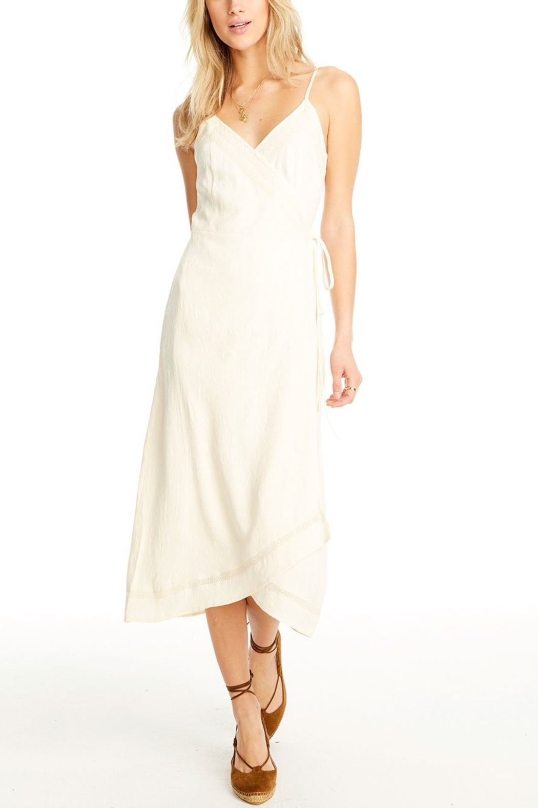 Saltwater Luxe Molly Wrap Midi Dress - Main Image