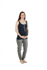 Molly Ades Zip-Nursing Tank - Product Mini Image