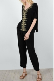 Molly Bracken Aztec Embroidered Blouse - Product Mini Image