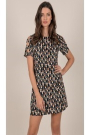 Molly Bracken Black Floral Dress - Product Mini Image