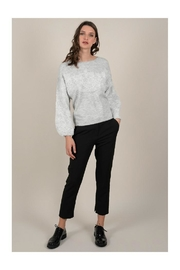Molly Bracken Boatneck/lace Sweater - Product Mini Image