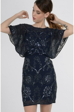 Shoptiques Product: Butterfly Sleeve Dress