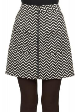 Shoptiques Product: Chevron Mini Skirt