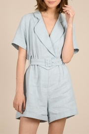 Molly Bracken Crossed Collar Playsuit - Product Mini Image