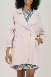 Molly Bracken Crossed Trench Coat - Product Mini Image
