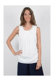 Molly Bracken Detailed Neck Top - Product Mini Image