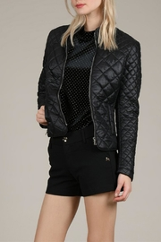 Molly Bracken Diamond Quilted Jacket - Front cropped