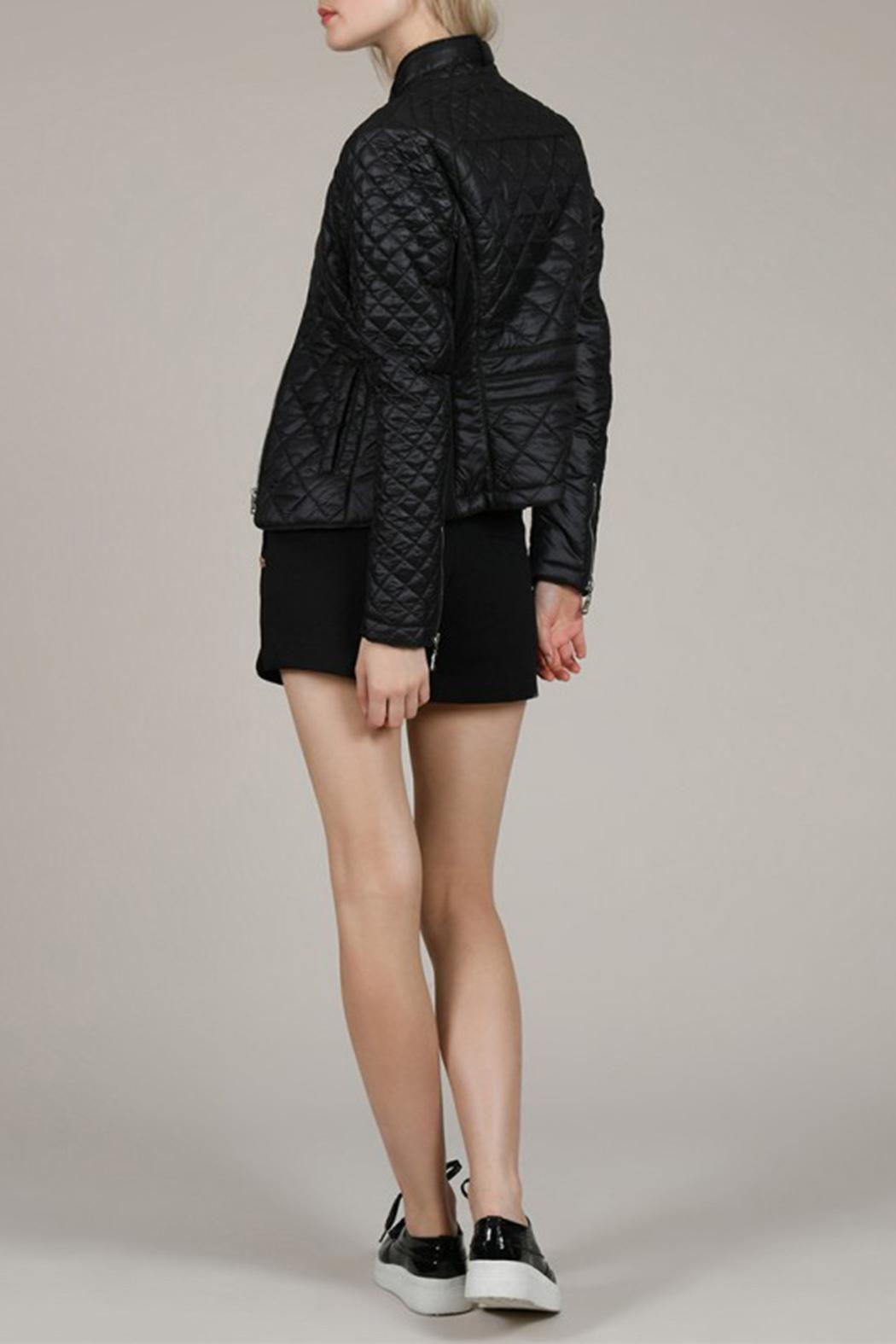 Molly Bracken Diamond Quilted Jacket - Side Cropped Image