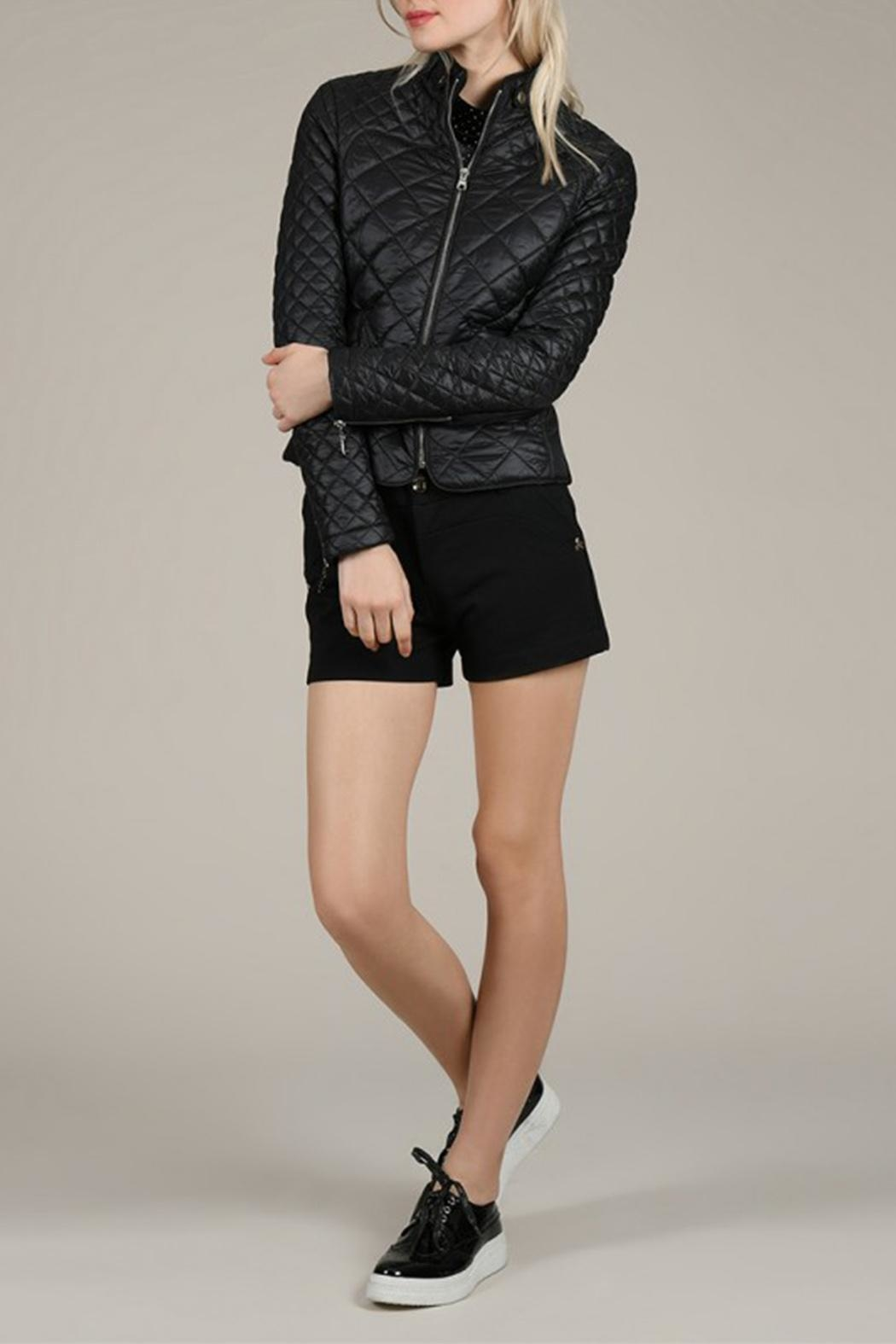 Molly Bracken Diamond Quilted Jacket - Front Full Image
