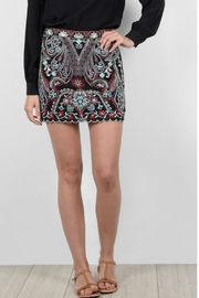 Molly Bracken Embroidered Gypsy Skirt - Product Mini Image