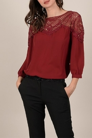 Molly Bracken Eyelet Blouse - Product Mini Image