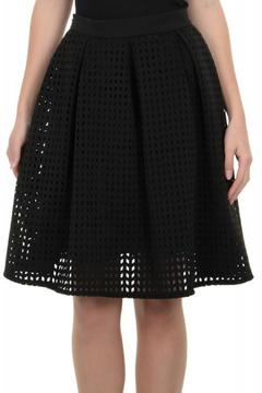 Shoptiques Product: Eyelet Flare Skirt