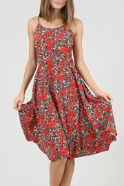 Molly Bracken Floral Dress - Back cropped