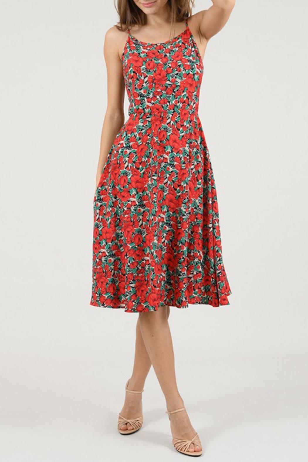 Molly Bracken Floral Dress - Front Full Image