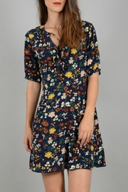 Molly Bracken Floral Print Dress - Front cropped