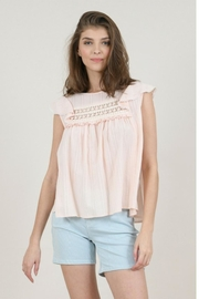 Molly Bracken Flounced Top - Front cropped