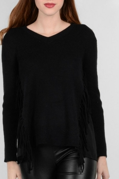 Shoptiques Product: Fringe Detail Sweater
