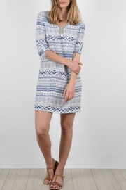 Molly Bracken Geometric Print Dress - Product Mini Image