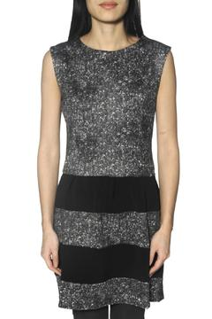 Shoptiques Product: Grey Print Mini Dress