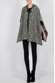 Molly Bracken Hooded Woven Cape - Product Mini Image