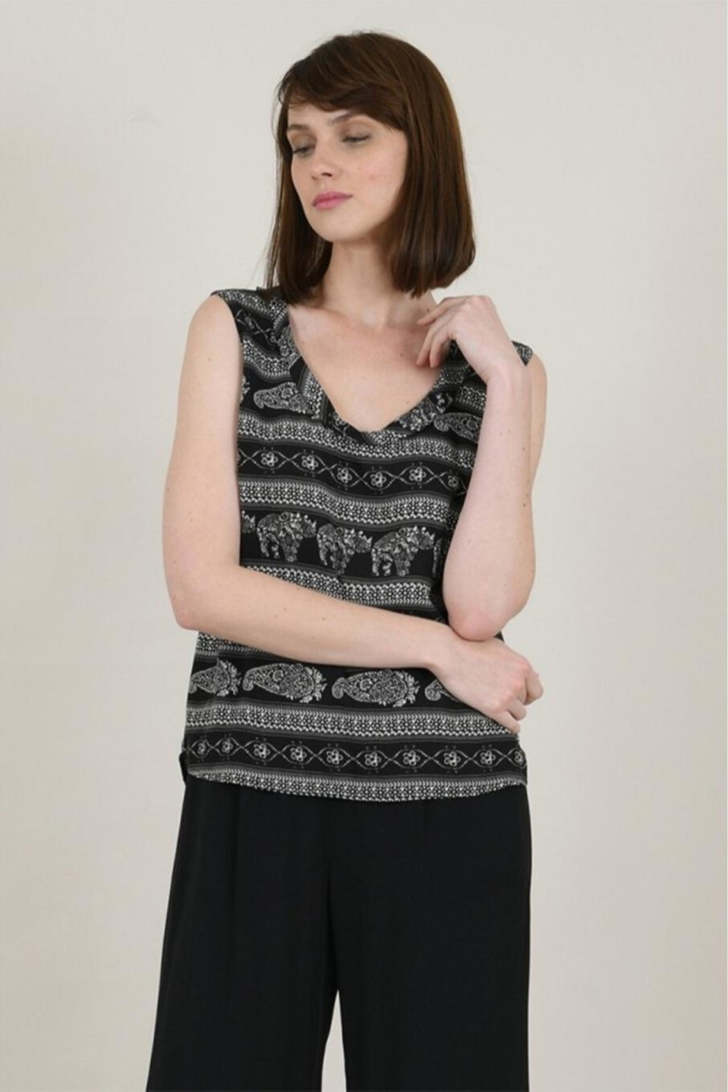 Molly Bracken Indie Tank Top - Front Cropped Image