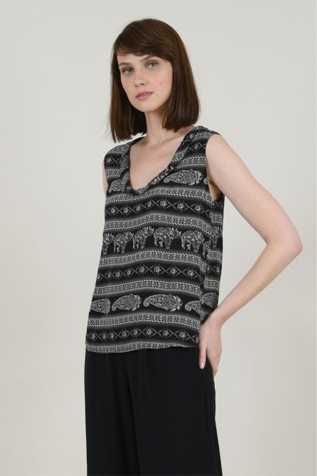 Molly Bracken Indie Tank Top - Back Cropped Image