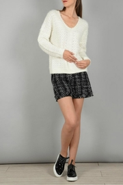 Molly Bracken Knitted Pullover Sweater - Front full body