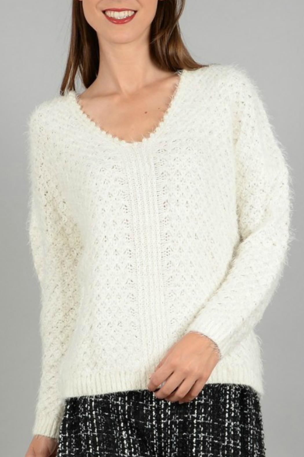 Molly Bracken Knitted Pullover Sweater - Main Image