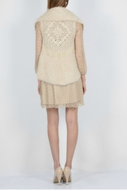 Molly Bracken Knitted Sleeveless Cardigan - Side cropped