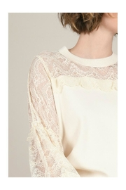 Molly Bracken Lace Sleeves Sweater - Other