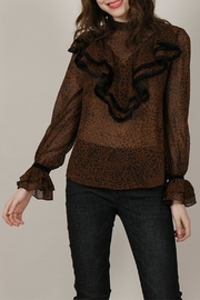 Molly Bracken Leopard Print Blouse - Product Mini Image