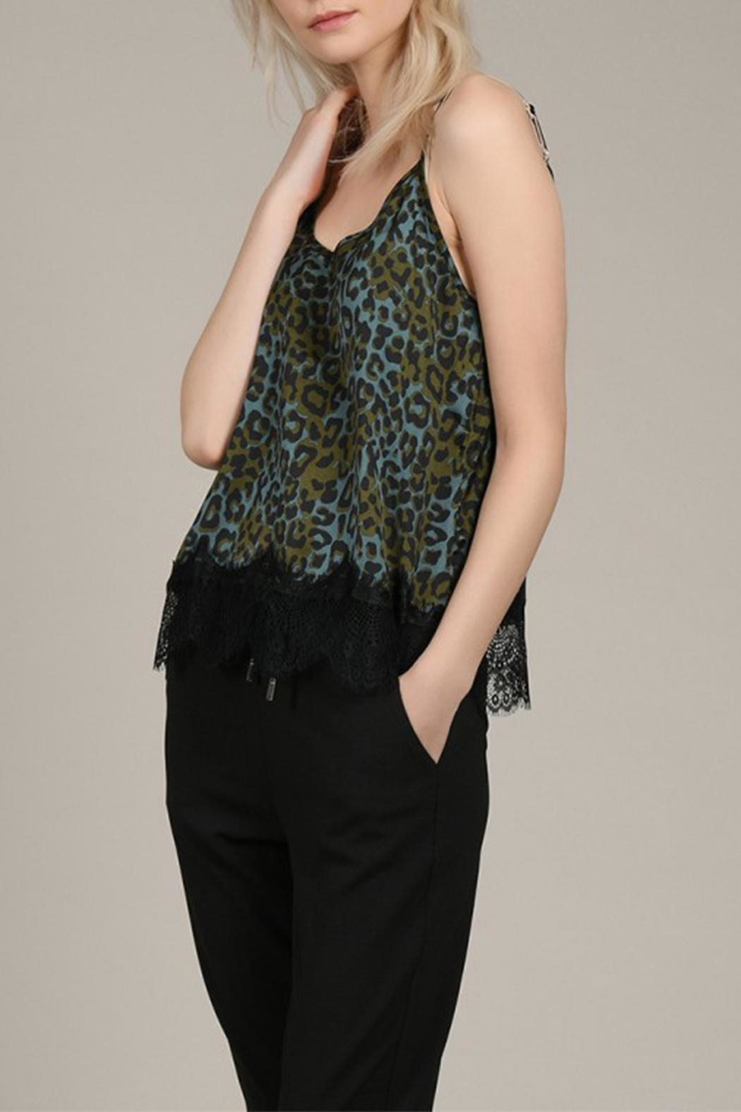 Molly Bracken Leopard Print Camisole - Front Full Image