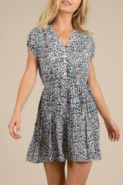 Molly Bracken Leopard Printed Dress - Front cropped