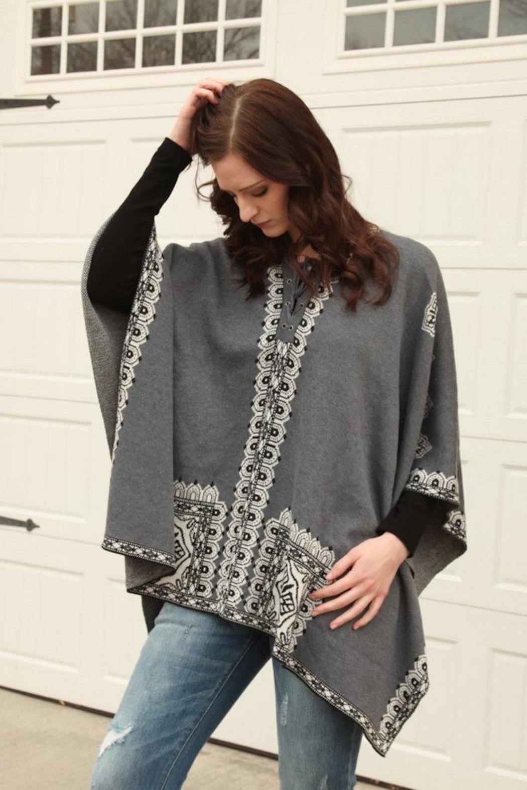 Molly Bracken Maggie Poncho - Main Image