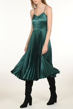 Molly Bracken Midi Satin Dress - Product List Image