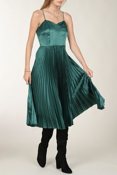 Molly Bracken Midi Satin Dress - Alternate List Image
